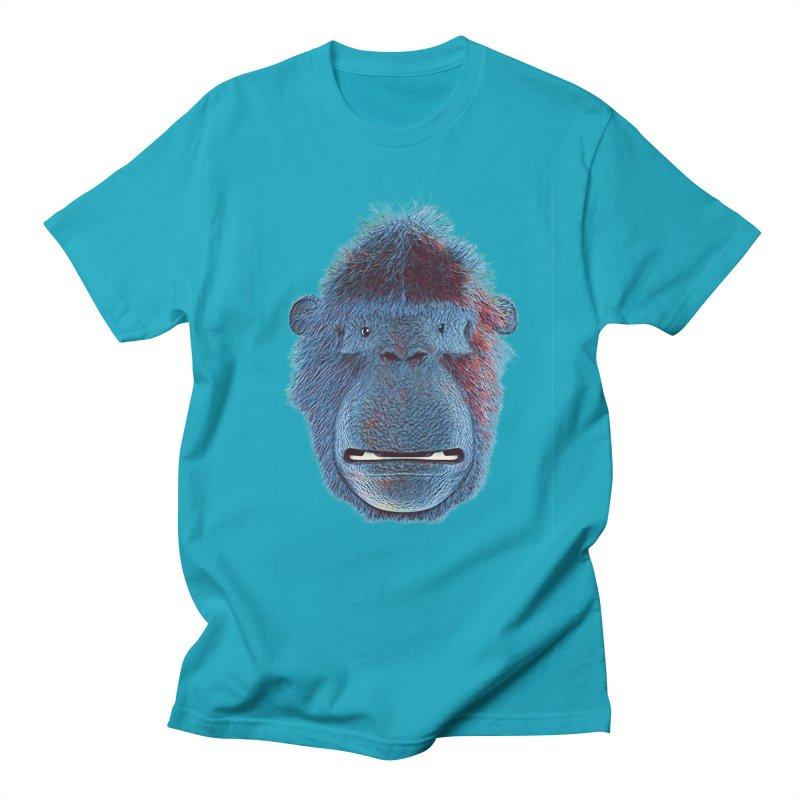 Mac Portrait Men's Regular T-Shirt by The Mega Plush Shop