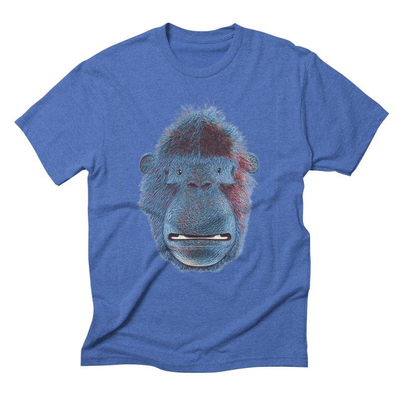 Mac Portrait Men's Triblend T-Shirt by The Mega Plush Shop