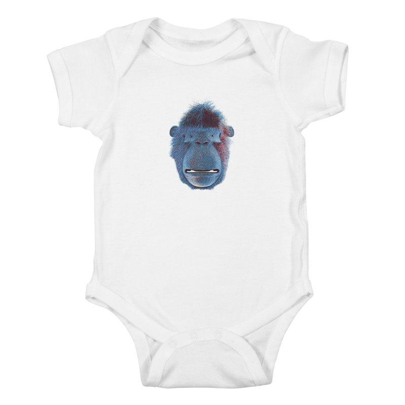 Mac Portrait Kids Baby Bodysuit by The Mega Plush Shop