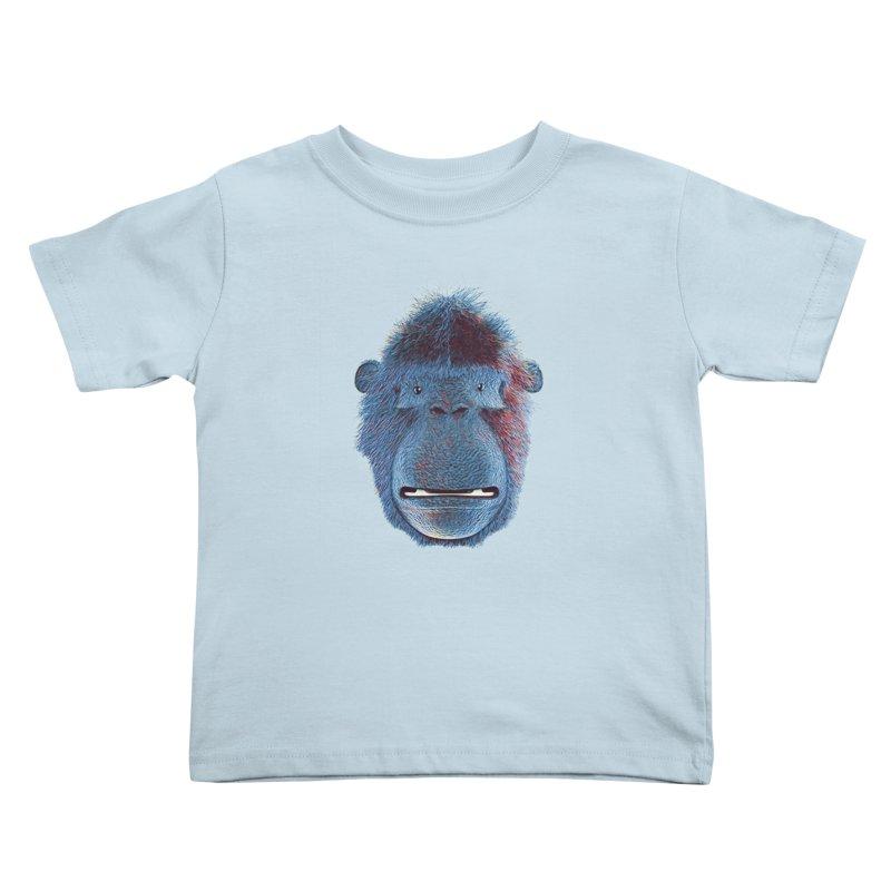 Mac Portrait Kids Toddler T-Shirt by The Mega Plush Shop