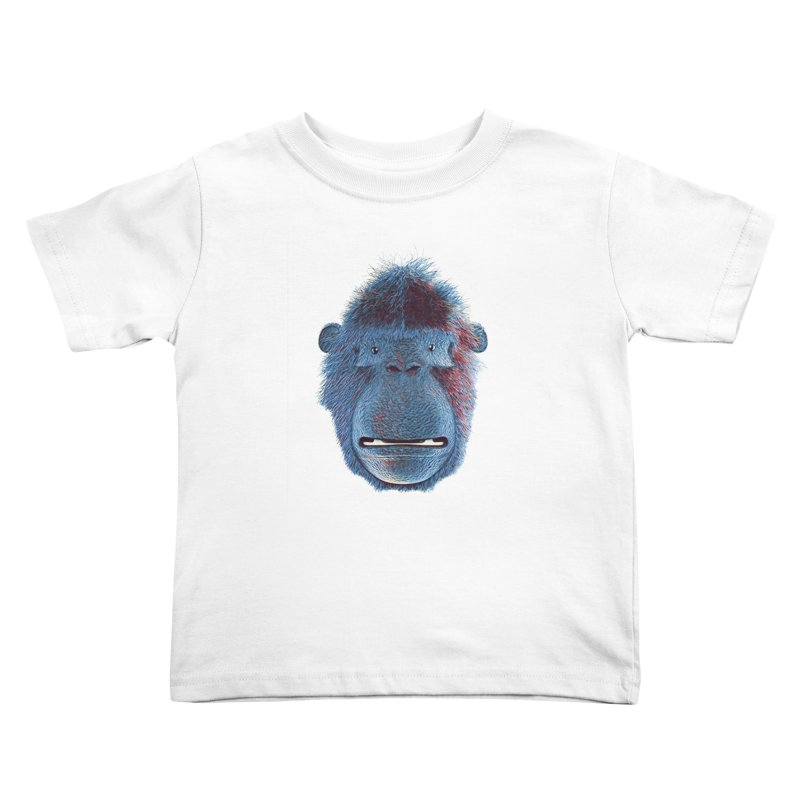 Mac Portrait Kids Toddler T-Shirt by The Mega Plush Shop