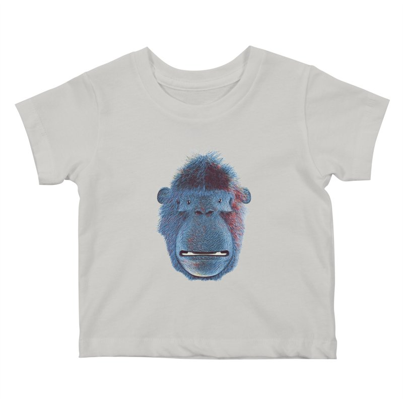 Mac Portrait Kids Baby T-Shirt by The Mega Plush Shop