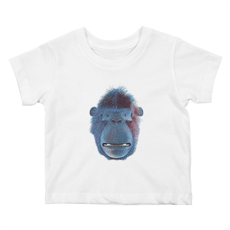 Mac Portrait Kids Baby T-Shirt by The Mega Plush Shop