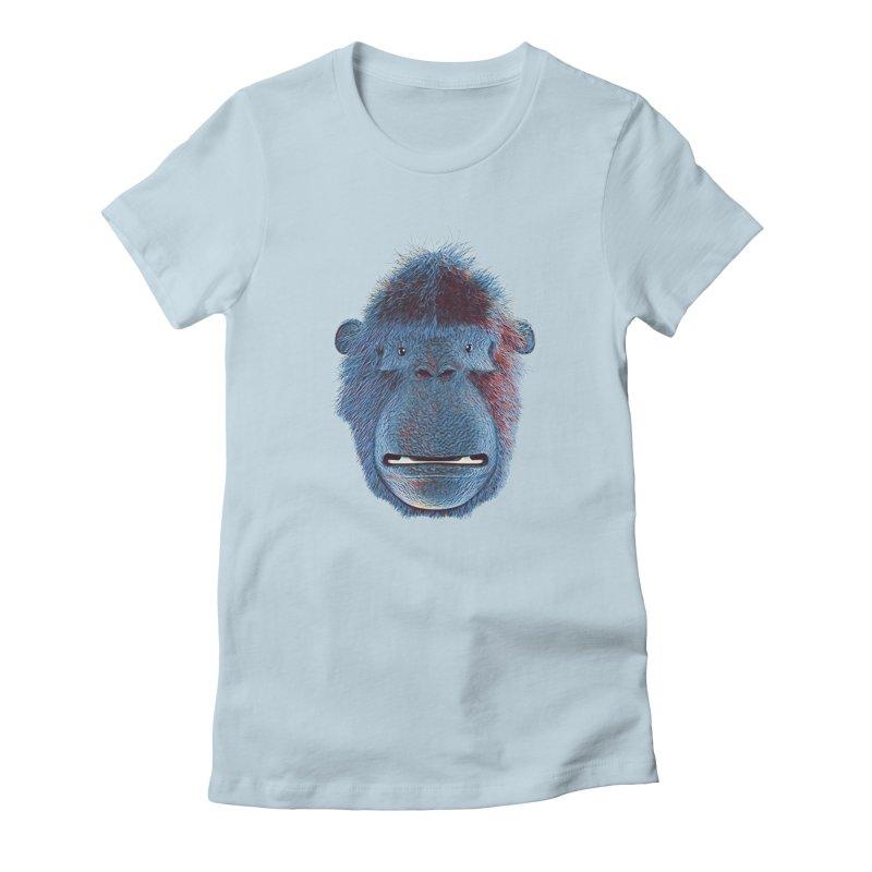 Mac Portrait Women's T-Shirt by The Mega Plush Shop