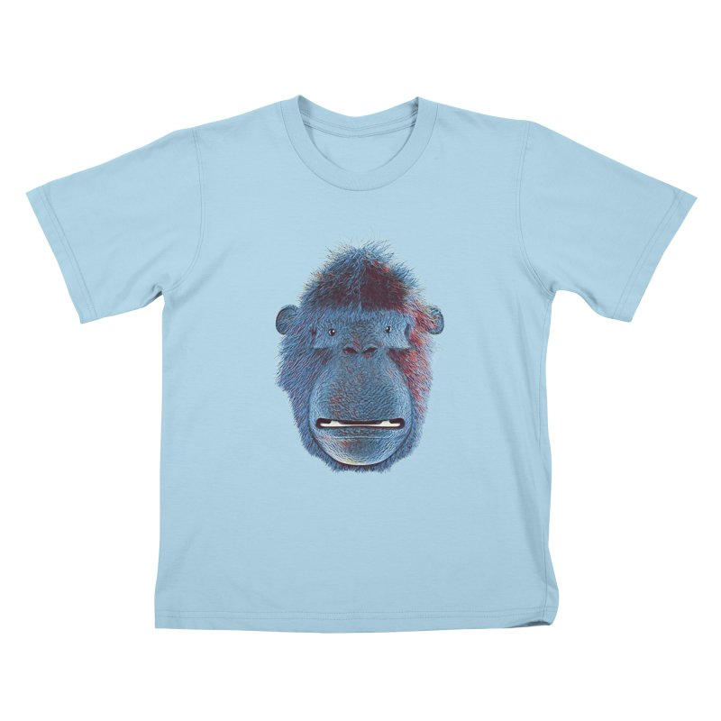 Mac Portrait Kids T-Shirt by The Mega Plush Shop