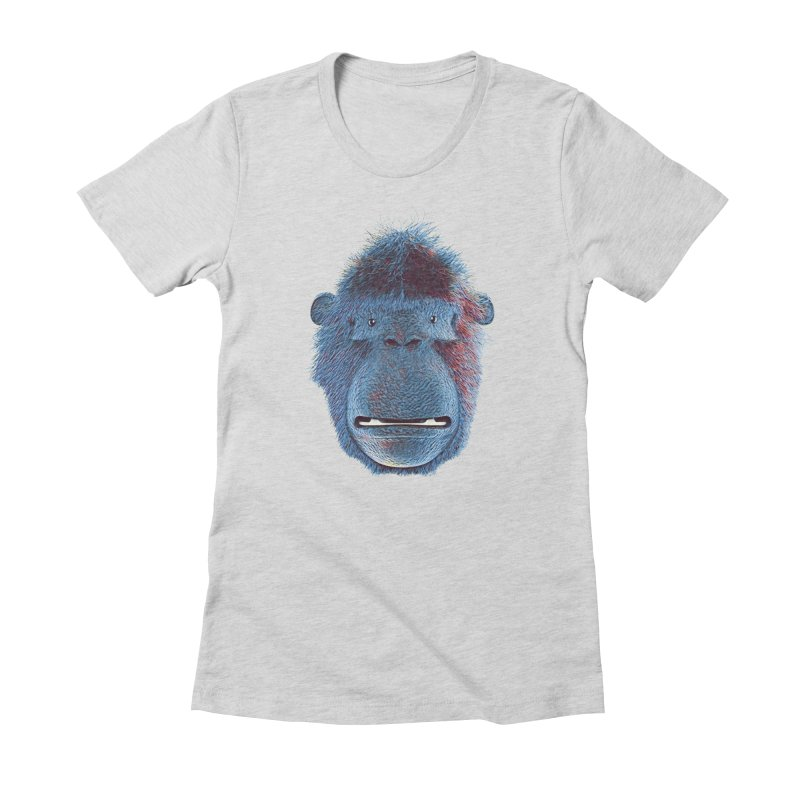 Mac Portrait Women's Fitted T-Shirt by The Mega Plush Shop