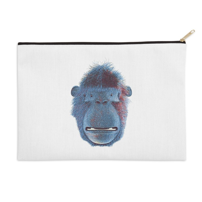 Mac Portrait Accessories Zip Pouch by The Mega Plush Shop