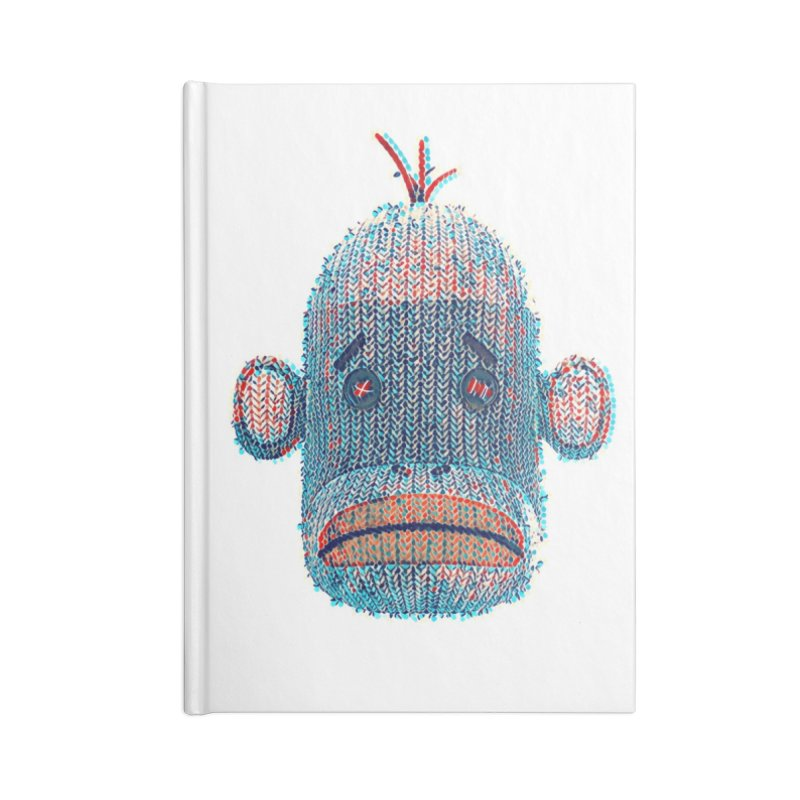 SOC Portrait Accessories Blank Journal Notebook by The Mega Plush Shop