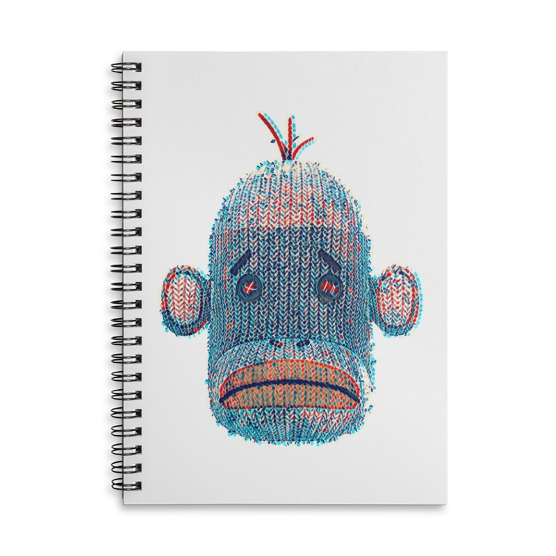 SOC Portrait Accessories Lined Spiral Notebook by The Mega Plush Shop