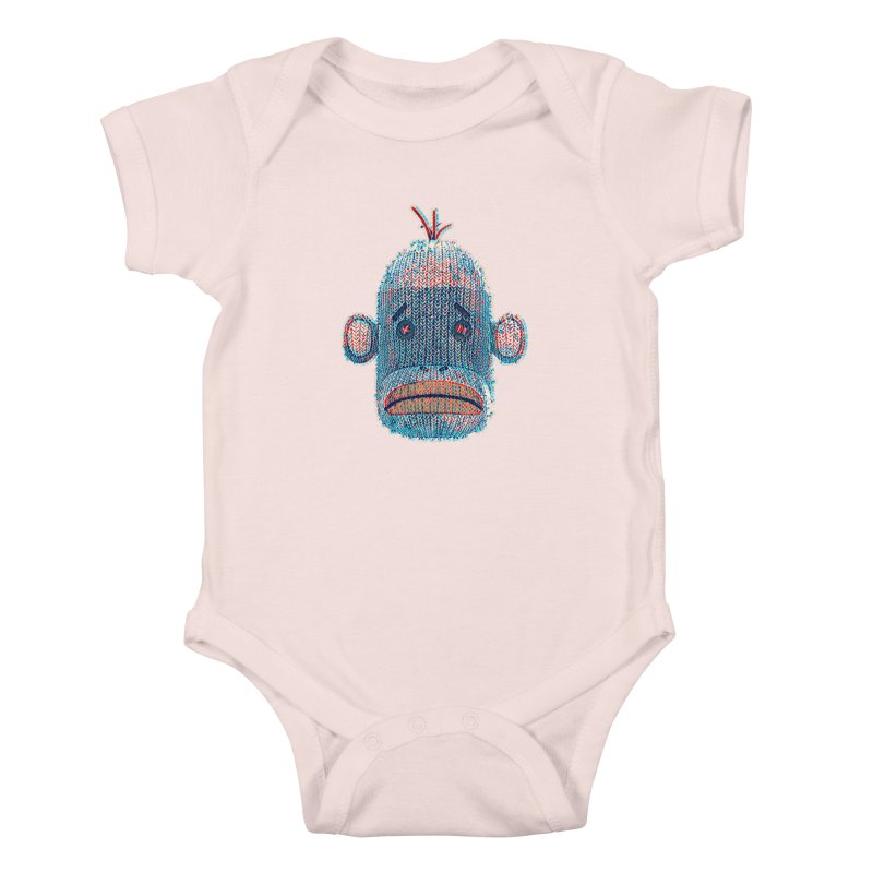 SOC Portrait Kids Baby Bodysuit by The Mega Plush Shop