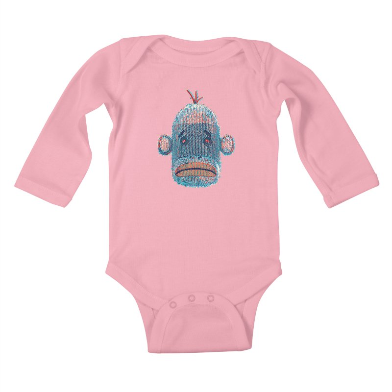 SOC Portrait Kids Baby Longsleeve Bodysuit by The Mega Plush Shop