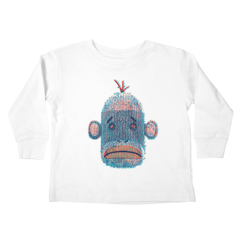 SOC Portrait Kids Toddler Longsleeve T-Shirt by The Mega Plush Shop