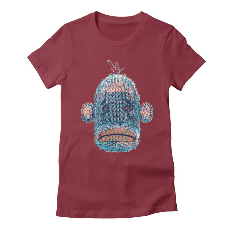SOC Portrait Women's Fitted T-Shirt by The Mega Plush Shop