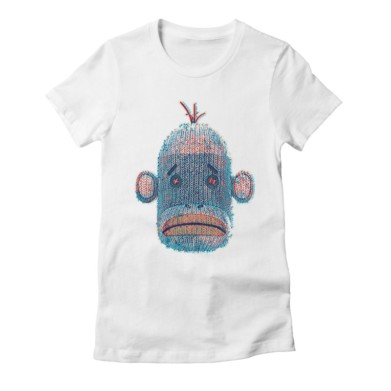 SOC Portrait Women's Fitted T-Shirt by The Mega Plush Shop