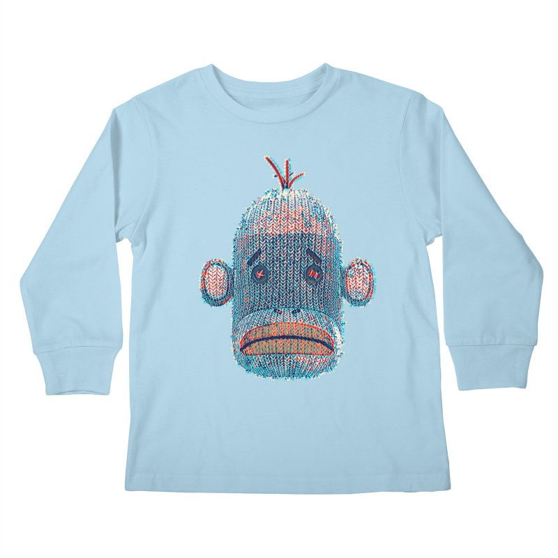 SOC Portrait Kids Longsleeve T-Shirt by The Mega Plush Shop