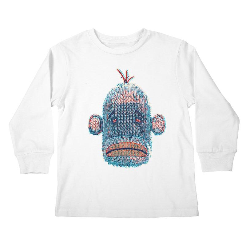SOC Portrait Kids Longsleeve T-Shirt by The Mega Plush Shop