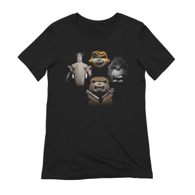 Bohemian Vigilante Women's Extra Soft T-Shirt by The Mega Plush Shop