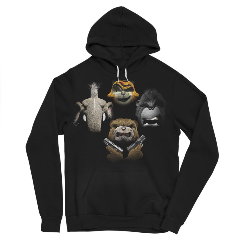 Bohemian Vigilante Men's Sponge Fleece Pullover Hoody by The Mega Plush Shop