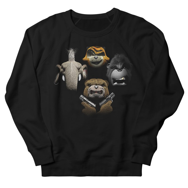 Bohemian Vigilante Men's French Terry Sweatshirt by The Mega Plush Shop
