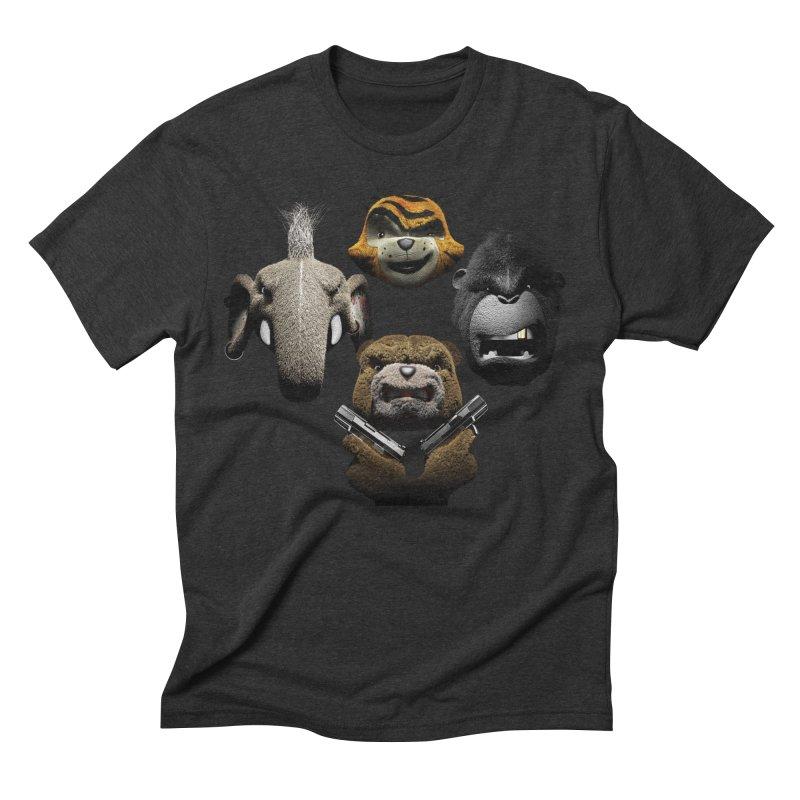 Bohemian Vigilante Men's Triblend T-Shirt by The Mega Plush Shop