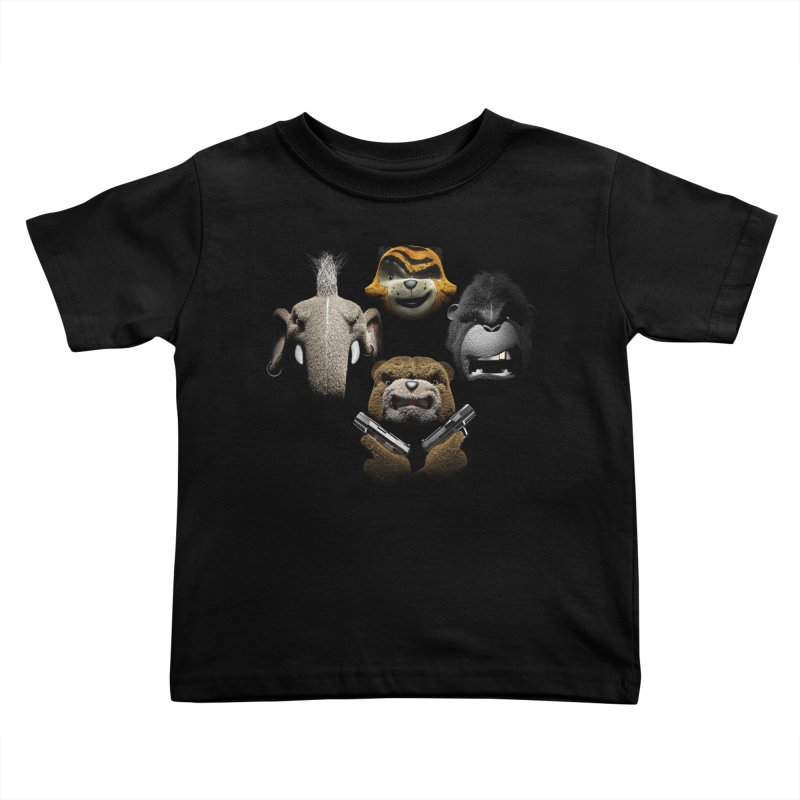 Bohemian Vigilante Kids Toddler T-Shirt by The Mega Plush Shop