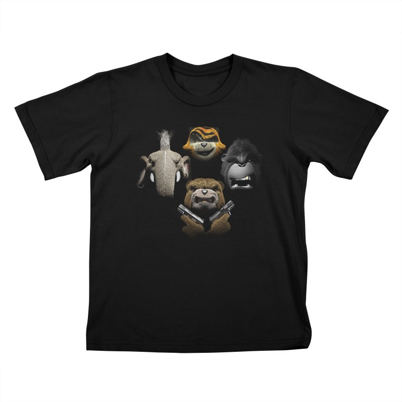 Bohemian Vigilante Kids T-Shirt by The Mega Plush Shop