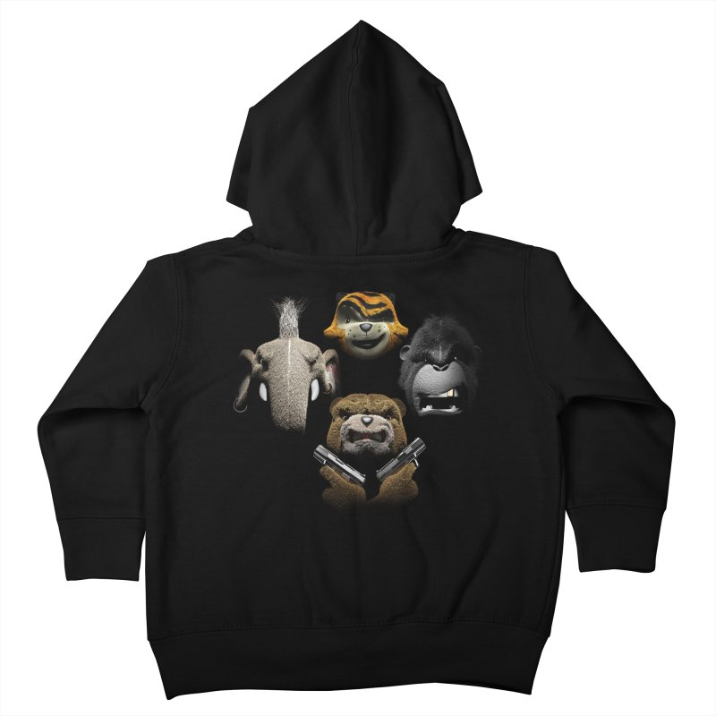 Bohemian Vigilante Kids Toddler Zip-Up Hoody by The Mega Plush Shop