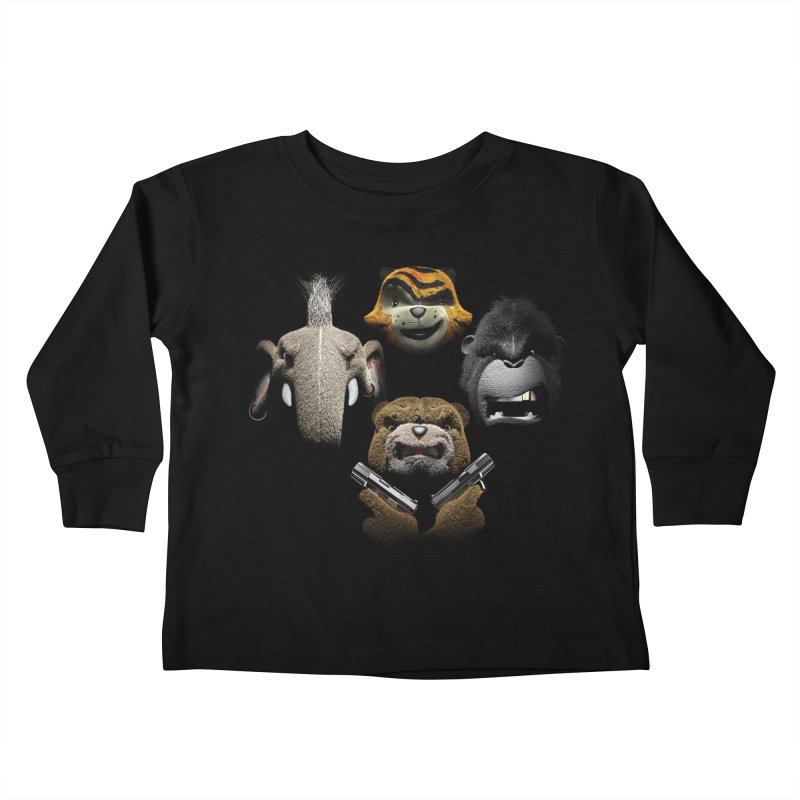 Bohemian Vigilante Kids Toddler Longsleeve T-Shirt by The Mega Plush Shop