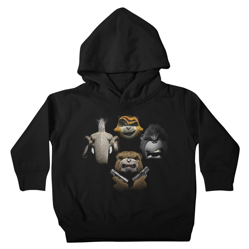 Bohemian Vigilante Kids Toddler Pullover Hoody by The Mega Plush Shop