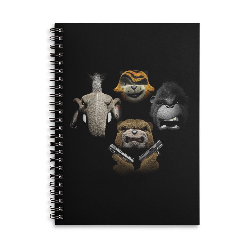 Bohemian Vigilante Accessories Notebook by The Mega Plush Shop