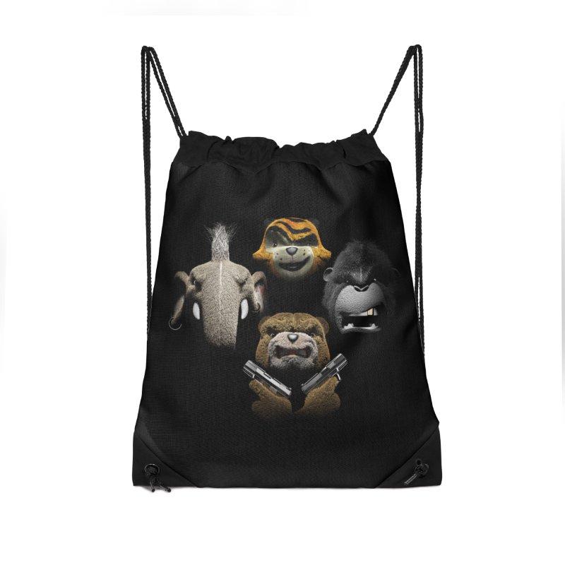 Bohemian Vigilante Accessories Drawstring Bag Bag by The Mega Plush Shop