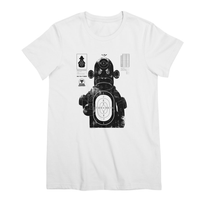 SOC target practice Women's Premium T-Shirt by The Mega Plush Shop