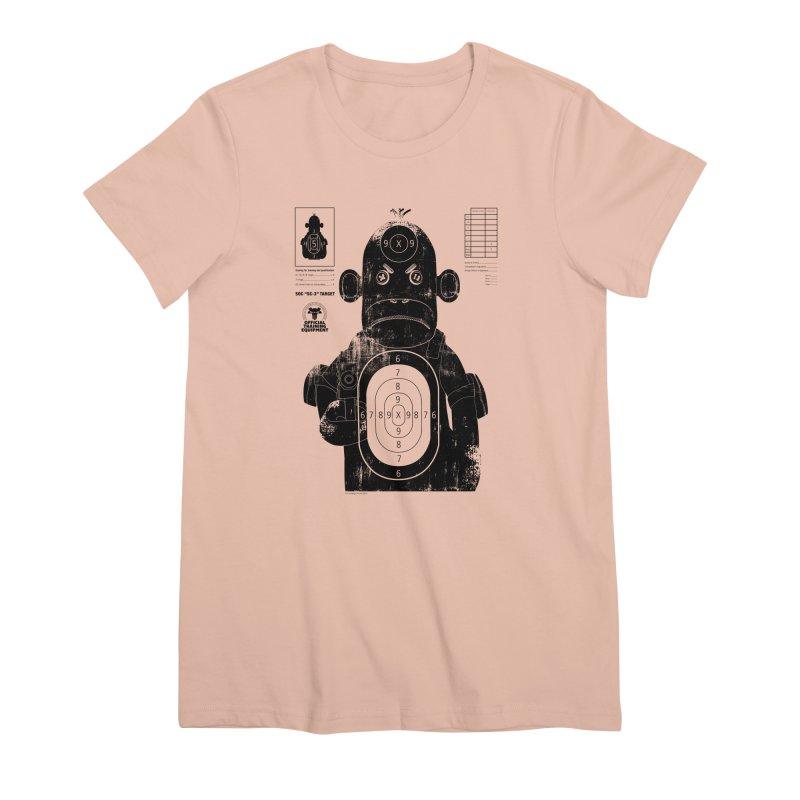SOC target practice Women's Premium T-Shirt by The Mega Plush Shop