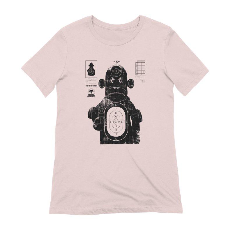 SOC target practice Women's Extra Soft T-Shirt by The Mega Plush Shop