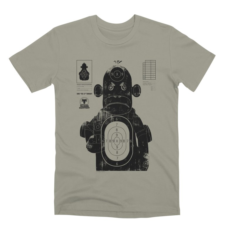 SOC target practice Men's Premium T-Shirt by The Mega Plush Shop