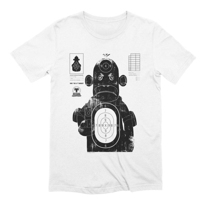 SOC target practice Men's Extra Soft T-Shirt by The Mega Plush Shop