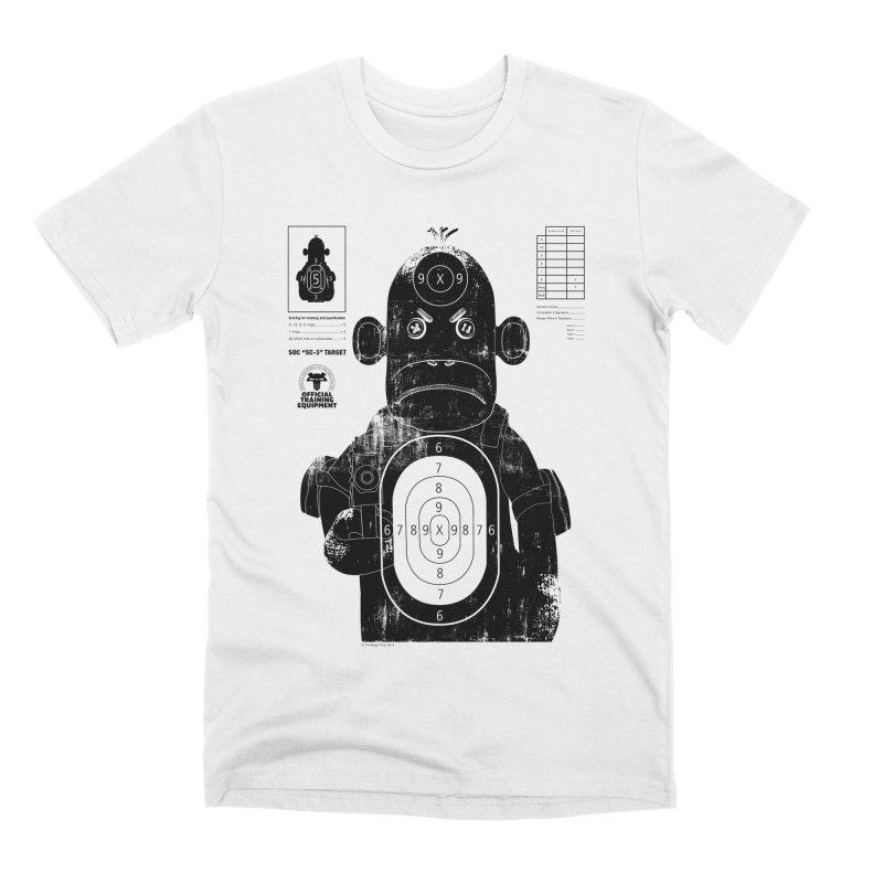 SOC target practice Men's Premium T-Shirt by The Mega Plush Shop