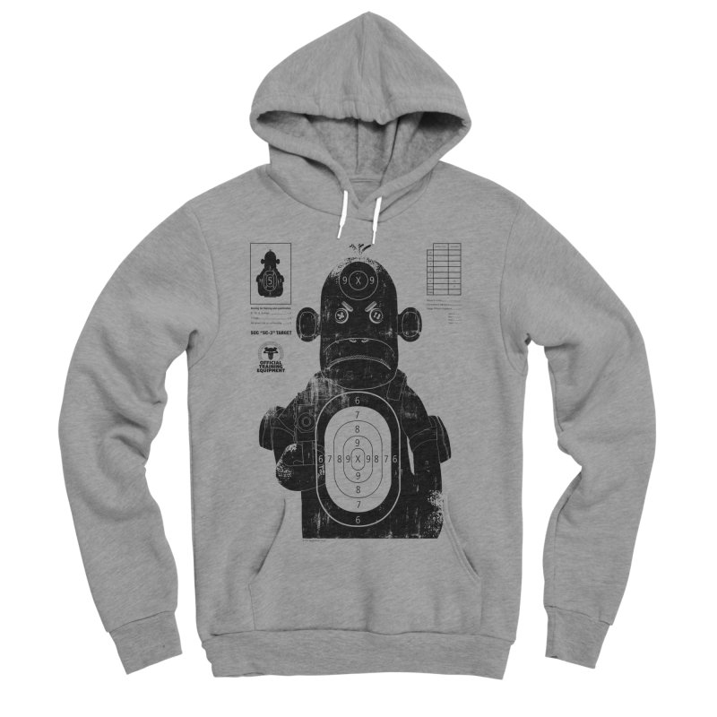 SOC target practice Men's Sponge Fleece Pullover Hoody by The Mega Plush Shop