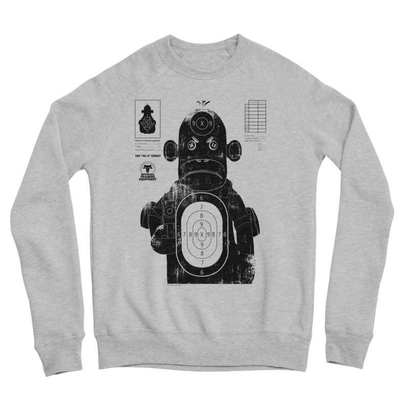 SOC target practice Men's Sponge Fleece Sweatshirt by The Mega Plush Shop