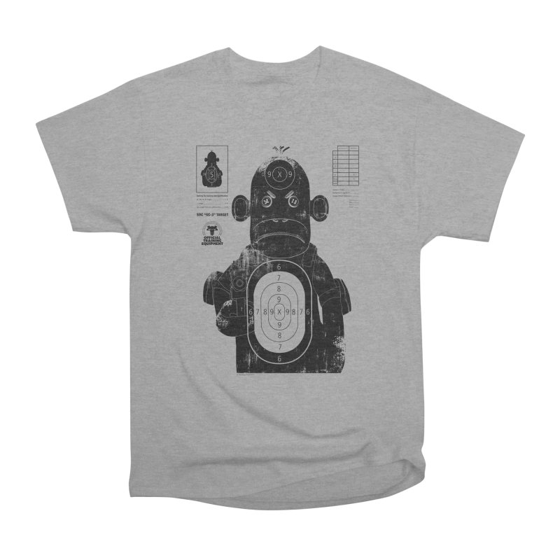 SOC target practice Men's Heavyweight T-Shirt by The Mega Plush Shop