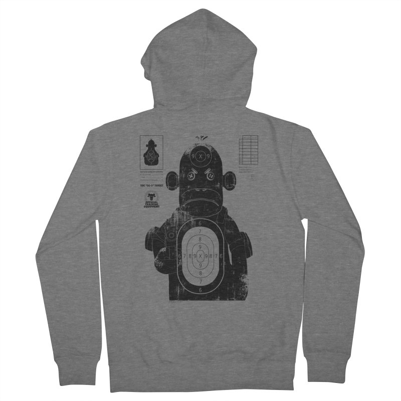 SOC target practice Men's Zip-Up Hoody by The Mega Plush Shop