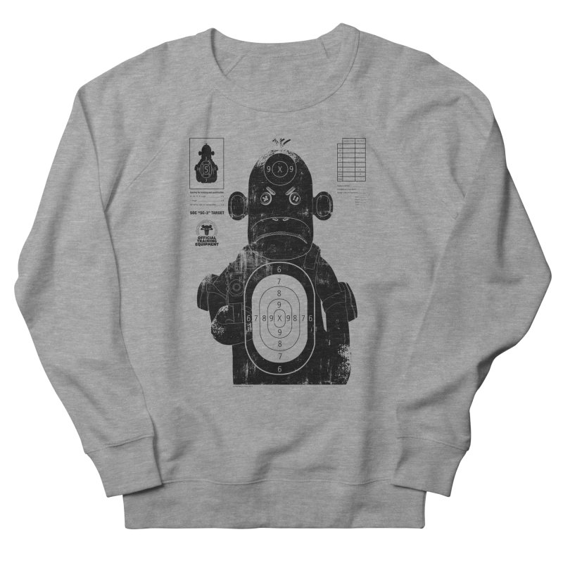 SOC target practice Men's French Terry Sweatshirt by The Mega Plush Shop