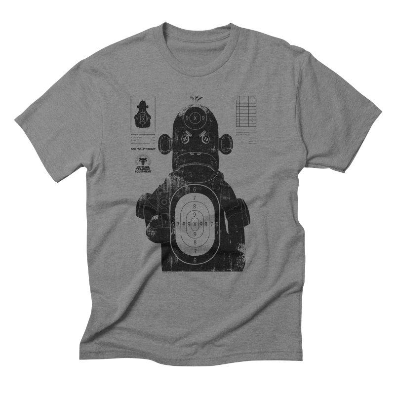 SOC target practice Men's Triblend T-Shirt by The Mega Plush Shop