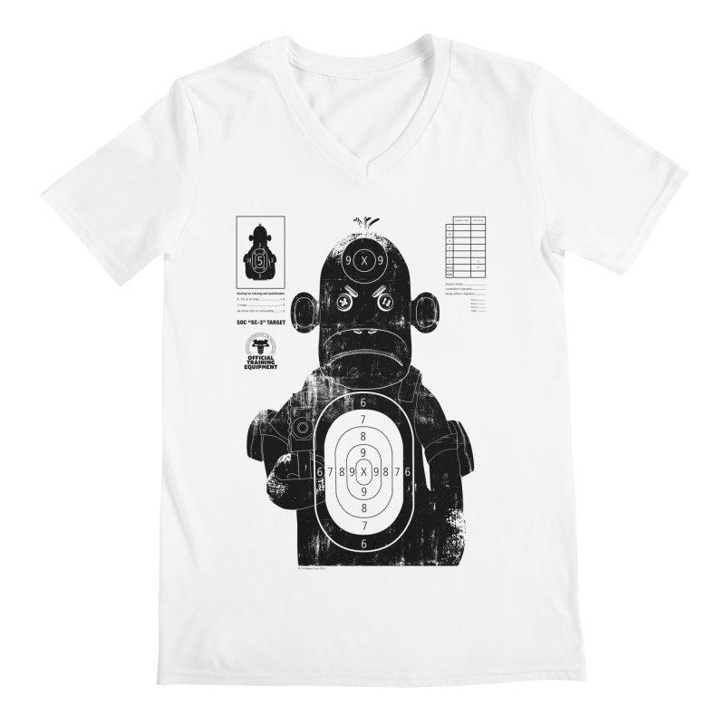 SOC target practice Men's Regular V-Neck by The Mega Plush Shop
