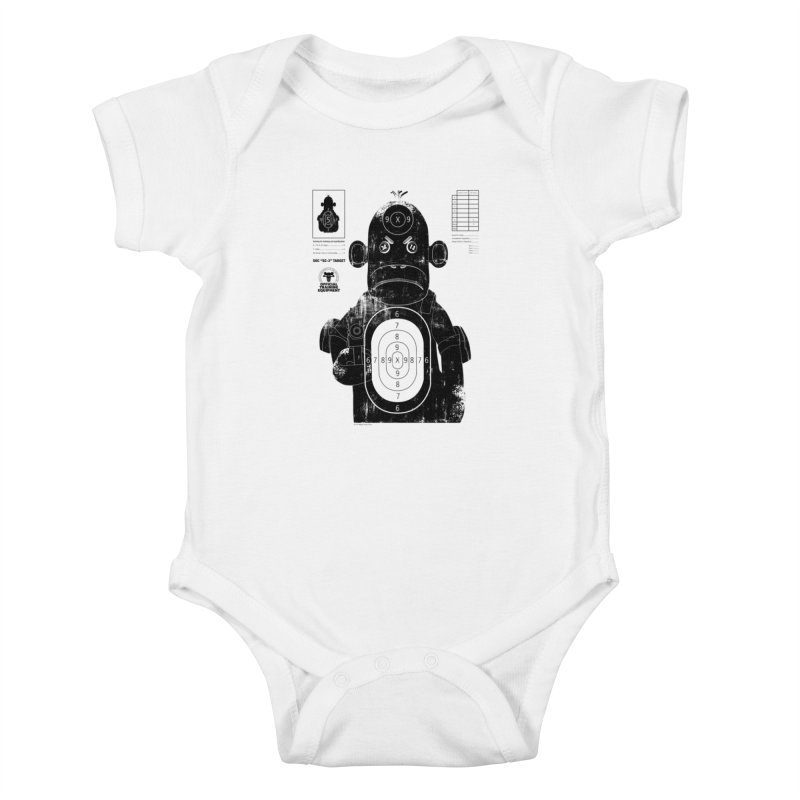 SOC target practice Kids Baby Bodysuit by The Mega Plush Shop