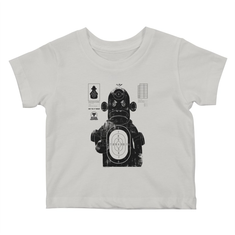 SOC target practice Kids Baby T-Shirt by The Mega Plush Shop