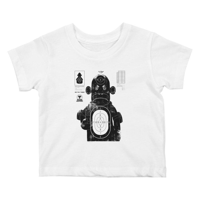 SOC target practice Kids Baby T-Shirt by The Mega Plush Shop