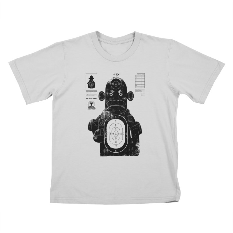 SOC target practice Kids T-Shirt by The Mega Plush Shop
