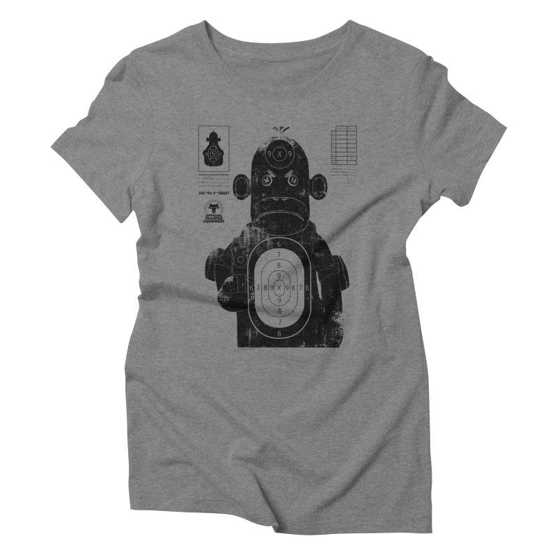 SOC target practice Women's Triblend T-shirt by The Mega Plush Shop