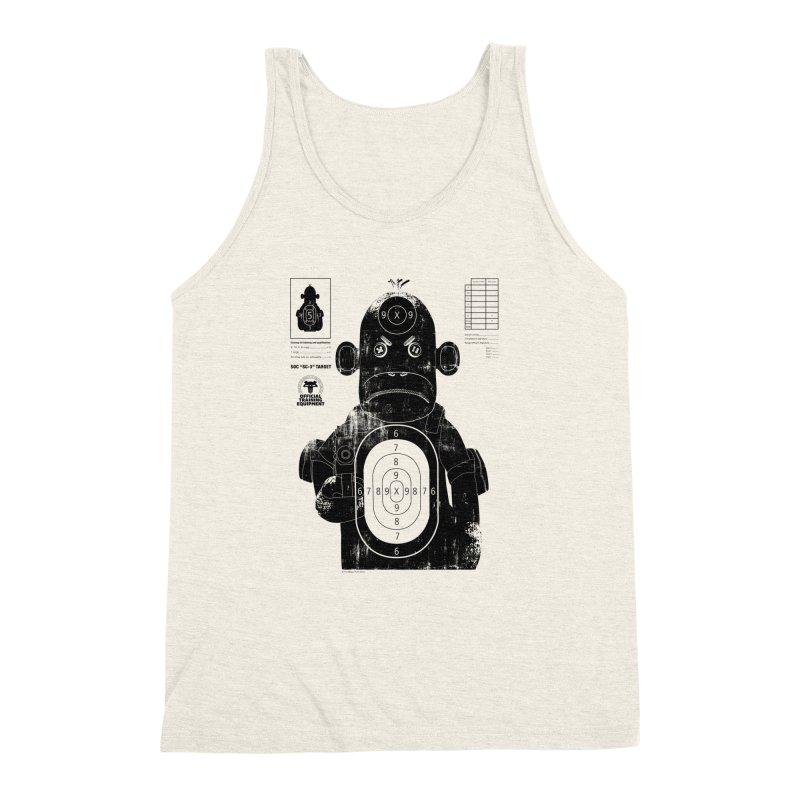 SOC target practice Men's Triblend Tank by The Mega Plush Shop